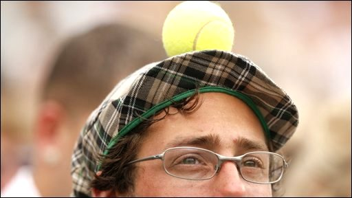 A man in a silly hat