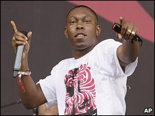 Dizzee Rascal at Glastonbury