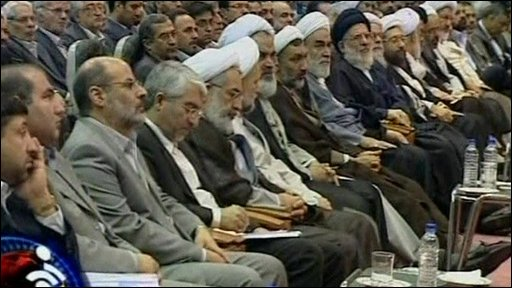 Members of Iran's Guardian Council