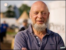 Michael Eavis at Glastonbury