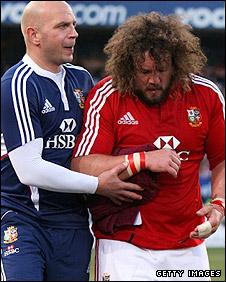 Wales prop Adam Jones