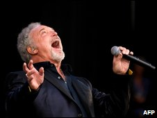 Tom Jones at Glastonbury