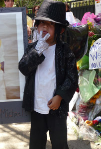 Young Michael Jackson fan