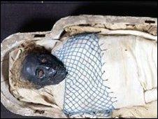 Takabuti - Pic courtesy Ulster museum