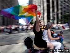 Gay Pride Parade in San Francisco
