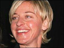 comedian/actress Ellen DeGeneres