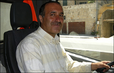 ael Shyuri is a truck driver who lives in the West Bank