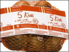 Sainsbury's basics range kiwi fruit