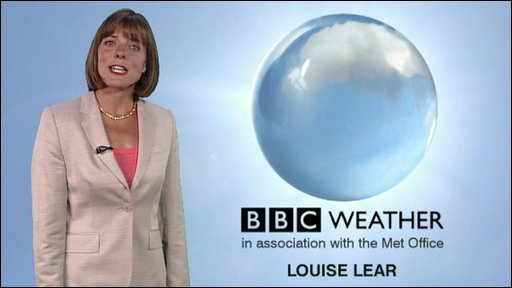 Louise Lear, weather presenter