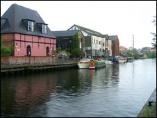 The River Wensum, Norwich