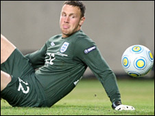 England Under-21 goalkeeper Scott Loach