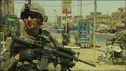 Specialist Benjamin Corbett, US Military