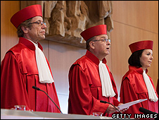 German Constitutional Court judges