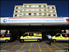 Gregorio Maranon Hospital in Madrid