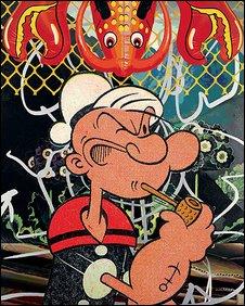 Popeye 2003. � 2008 Jeff Koons
