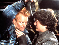 Sting and Kyle MacLachlan in Dune