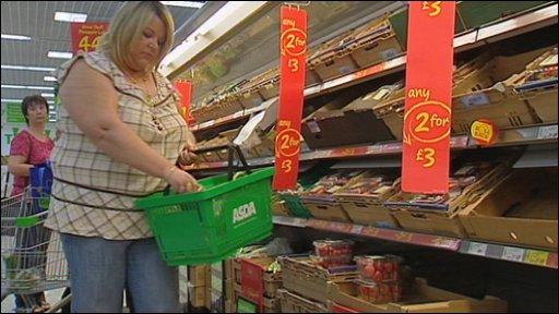 Audrey Gordon shopping