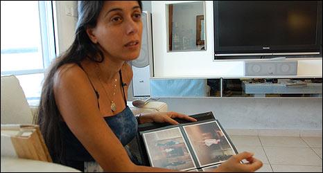 Ayelet Modoh, sister of rocket victim, Ashdod