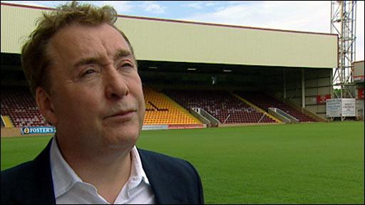 Motherwell chairman John Boyle