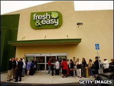 Teso Fresh & Easy store in California