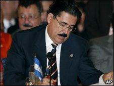 President Manuel Zelaya
