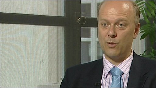 Shadow home secretary Chris Grayling