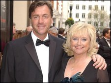 The couple at the TV Baftas in 2005