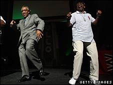 Reverend Al Sharpton and Spike Lee