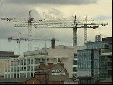 Cranes in Ireland
