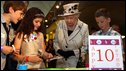 The Queen meeting 10-year-olds at Scottish Parliament