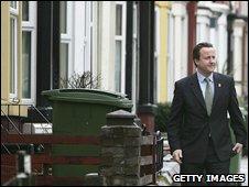 David Cameron in Birkenhead in 2006