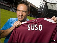New Hearts winger Suso