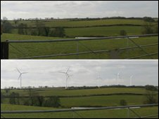 How the wind turbines would look