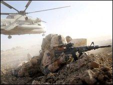 US marine in Main Poshteh, Afghanistan(02/07/09)