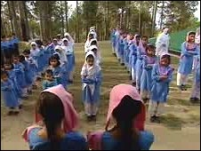 Assembly at a government school