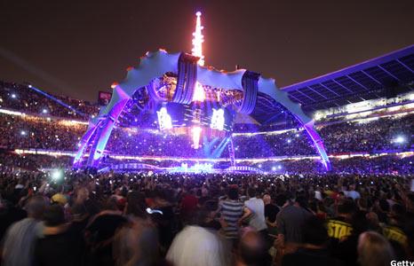 U2 360 tour set in Barcelona