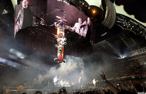U2 360 tour set in Barcelona