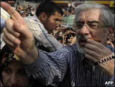 Mir Hossein Mousavi 15.6.09