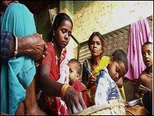 Pushpa's family