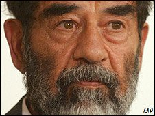 Saddam Hussein on 1 July 2004