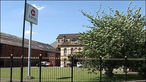 Steel-making firm Corus, Stocksbridge