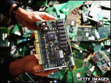 Computer circuit board (Getty)
