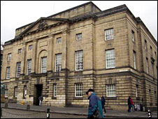 High Court in Edinburgh - Crown copyright image