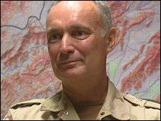Dutch commander Gen Tom Middendorp