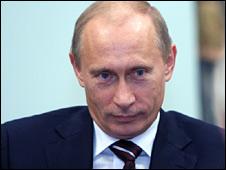 Vladimir Putin (file image)
