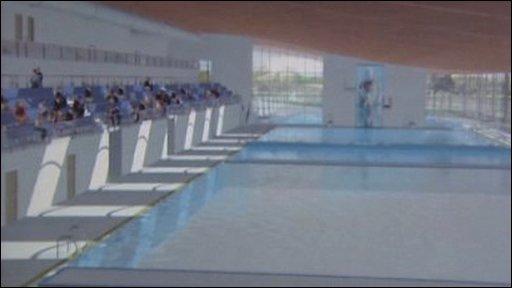 Bbc news uk northern ireland pool 39 not ready for - Bangor swimming pool northern ireland ...