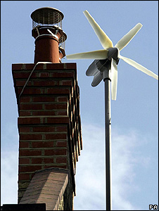 Wind turbine (Image: PA)