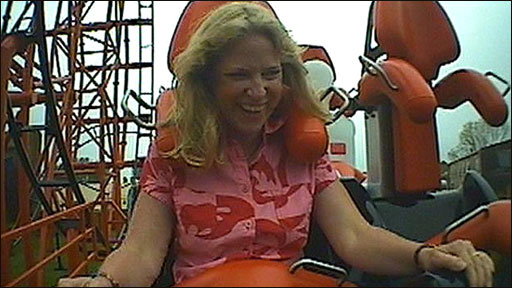 Reporter Cathy Killick on the new rollercoaster