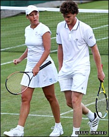 Liezel Huber and Jamie Murray