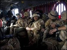 Black Watch soldiers 